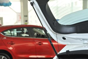 Mazda3星骋两厢 空间-玄云白