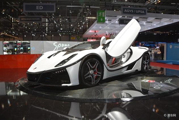 2015日内瓦车展 GTA全新Spano首发亮相