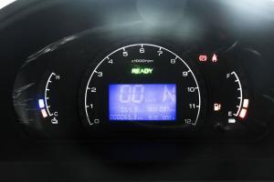 北汽307EV仪表盘背光显示图片