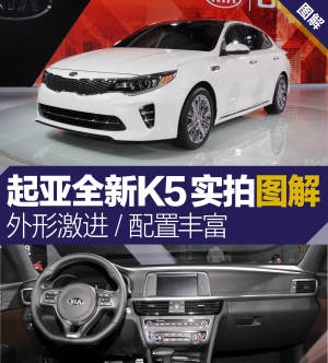K5(进口)起亚新一代K5车展图解 颜值系数暴增图片