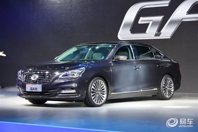 传祺GA8 2016年4月上市 将发力新能源车