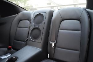 进口日产GT-R 后排空间
