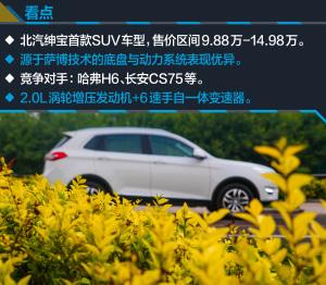 绅宝X652015款 2.0T 自动豪华型图片