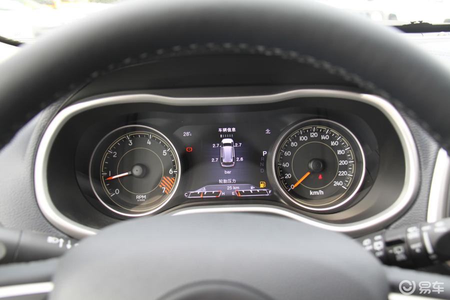【自由光2015款2.4l 自动 精英版仪表盘背光显示汽车