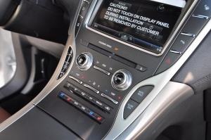 MKX中控台空调控制键