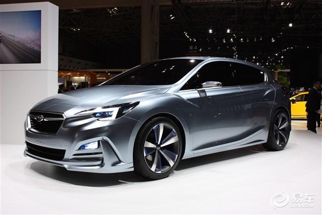 斯巴鲁翼豹5门版概念车发布 采用掀背设计