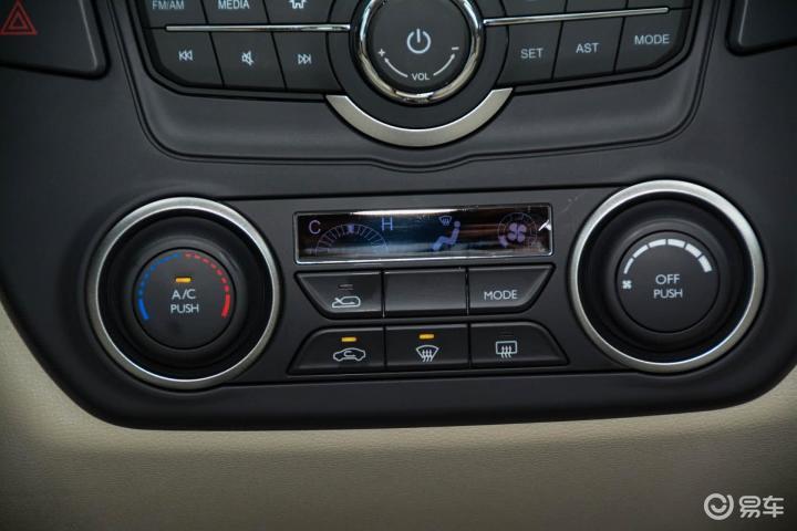 东风风神A60中控台空调控制键 新款风神A60中控台空调控制键 风神A高清图片