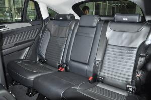 进口奔驰GLE级轿跑SUV 后排座椅