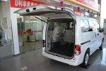 郑州日产NV200 行李厢开口范围