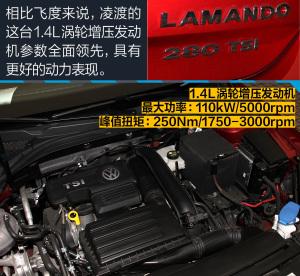 凌渡凌渡280TSI DSG舒适版图片