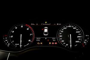 进口奥迪S7 仪表盘背光显示