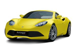 Artega GT 黄色