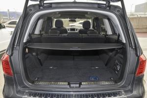 进口奔驰GL级 行李箱空间