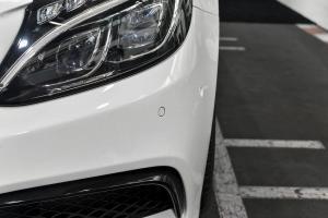 进口奔驰C级AMG          奔驰AMG 外观-钻石白色