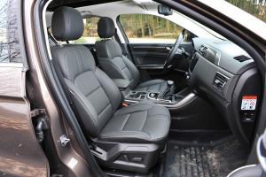 观致5 SUV前排空间图片
