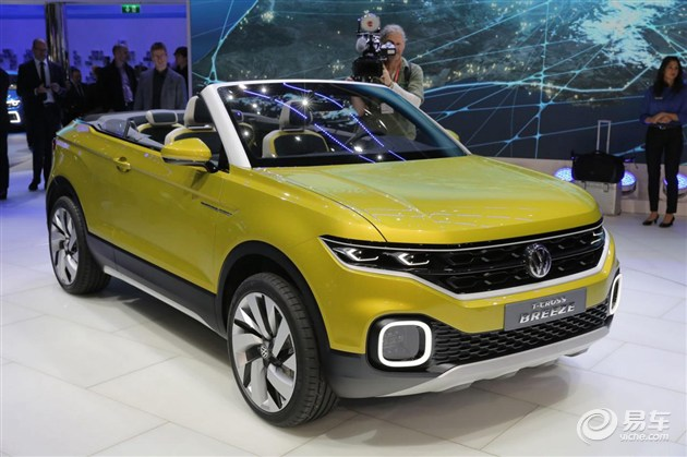 大众全新小型SUV车身尺寸曝光 或小于同级