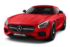 进口奔驰AMG GT 锆英石红色金属漆