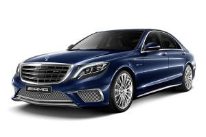 进口奔驰S级AMG 水硅钒钙石蓝色