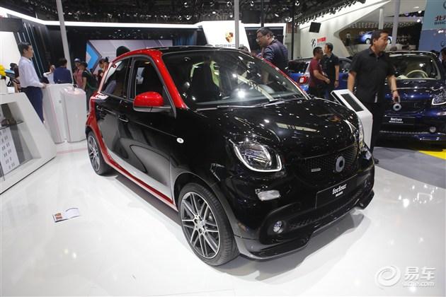 全新smart Brabus版将于广州车展上市