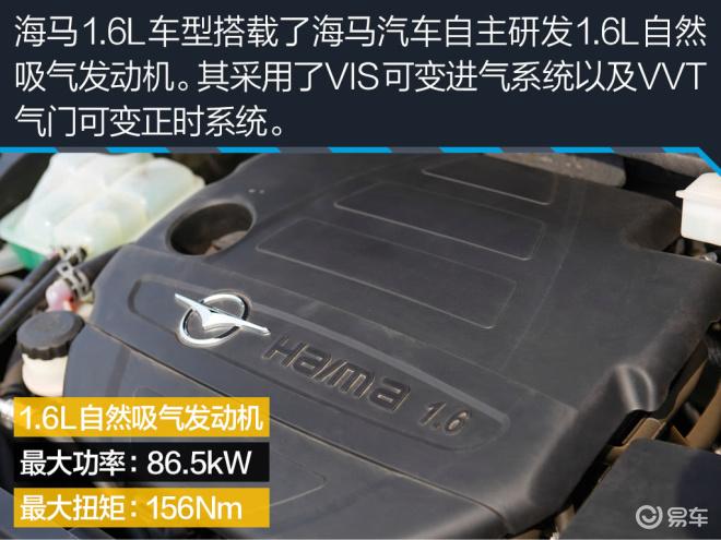 海马M62016款 1.6L MT 运动智能型
