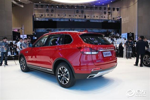 汉腾X7 9月6日上市 推8款车型/或7.98万起