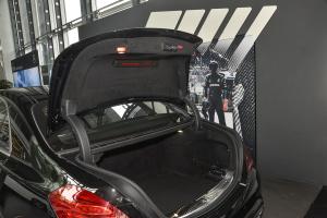 AMG S级行李厢开口范围