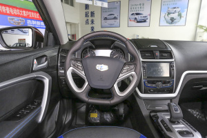 帝豪EV300驾驶位区域