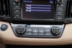 一汽丰田RAV4荣放           中控台空调控制键