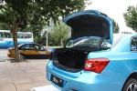 比亚迪秦EV300 行李厢开口范围