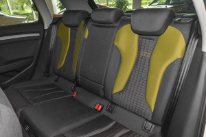 进口奥迪A3 e-tron 后排座椅