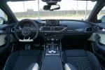 奥迪RS6(进口)完整内饰(中间位置)图片