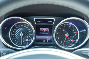 奔驰GLE级(进口)仪表盘背光显示图片