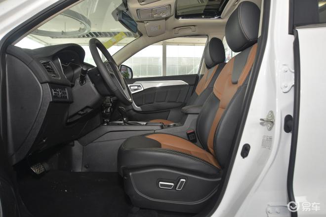 吉利远景SUV 空间高清图片