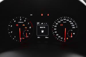 北京现代ix25仪表盘背光显示图片