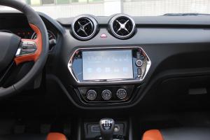 东南DX3中控台正面图片