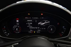 奥迪A4L仪表盘背光显示图片