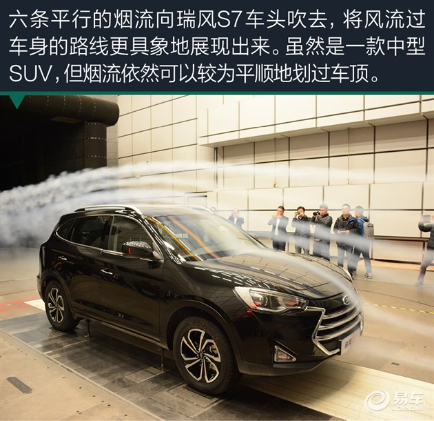 江淮瑞风S7风洞试验 SUV如何获得低风阻高清图片