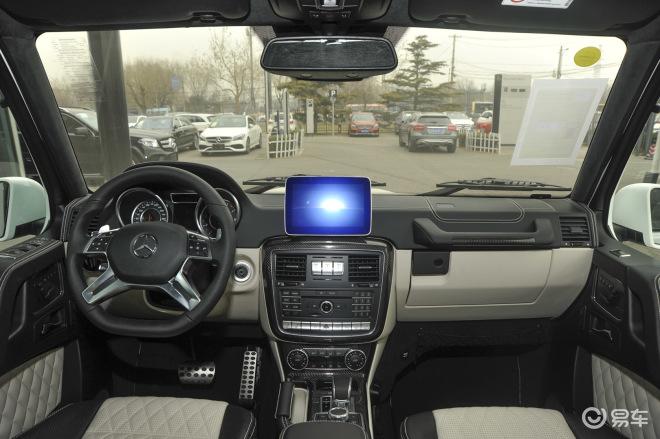 间位置 内饰 奔驰G级AMG高清图片