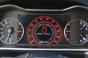 大迈 X7仪表盘背光显示图片