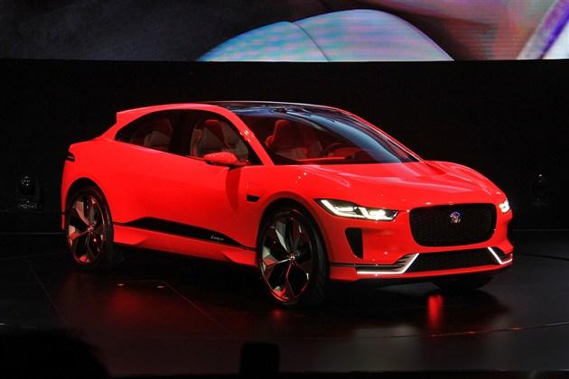 捷豹7月将发布I-PACE车型 纯电SUV/百公里加速4秒