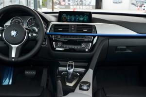 宝马3系GT中控台整体图片