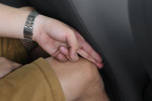 POLO后排腿部空间体验