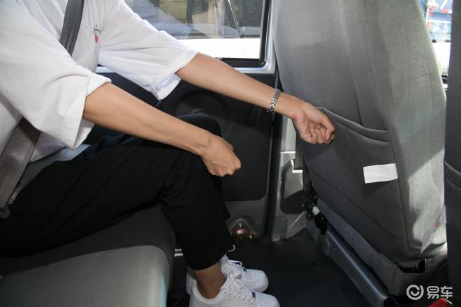 小康K07SK07S后排腿部空间体验