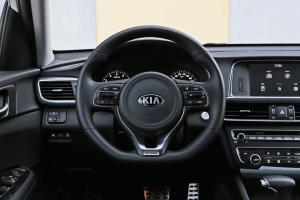 起亚K5方向盘图片