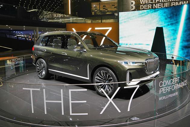 宝马X7概念车