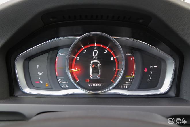 沃尔沃S60 插电混动沃尔沃S60 插电混动仪表盘