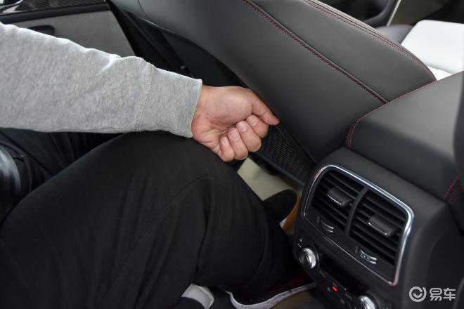奥迪RS 6RS 6后排腿部空间体验
