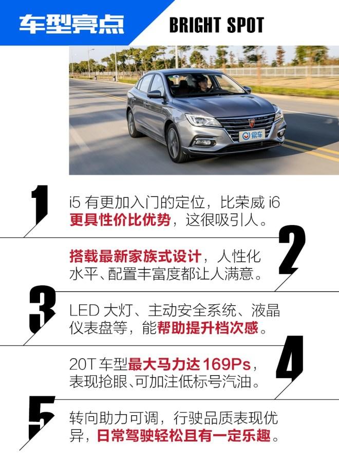 荣威i5试过这辆1.5T的荣威i5 你也许会放弃那些热门合资车