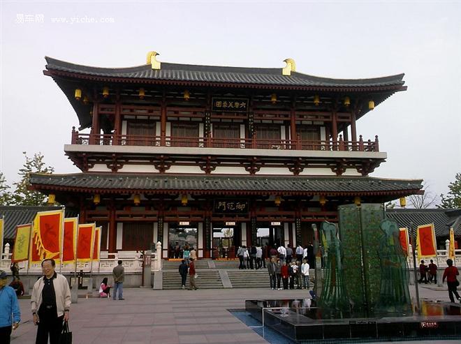 走进历史 一起体验唐朝皇宫的雄伟庄严图片