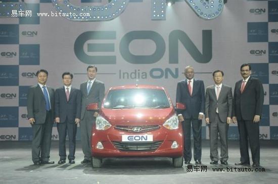 现代汽车发布Eon小型车 有望引入中国市场